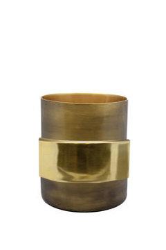 Bronze Vaas Goud - Large