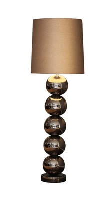 Stout Verlichting Vloerlamp Milano Rose Brons Glans - 5 Bol