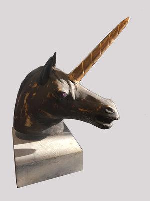 Unicorn Chinees Porselein Saskia Pfaeltzer