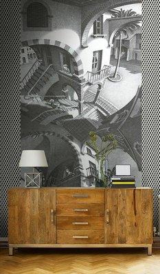 Boven en Onder Escher Behang