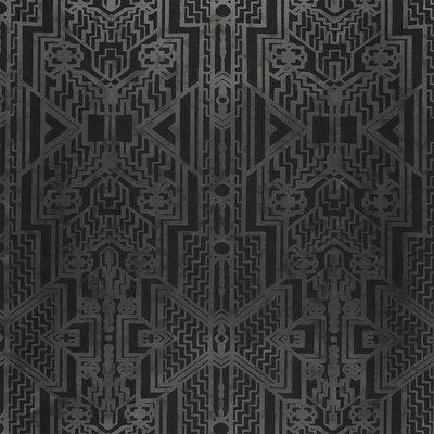 Brandt Geometric Ralph Lauren Behang Charcoal