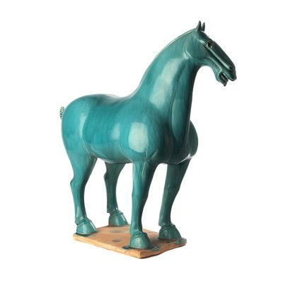 Chinees Paard Turquoise - Large
