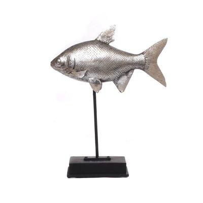 Zilveren Vis Op Standaard