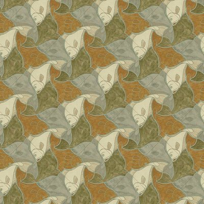 Escher Vissen Behang g