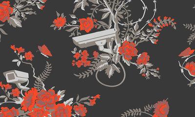 Vigilant Floral ARTE Behang