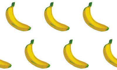 Bananen Behang ARTE B-A-N-A-N-A-S