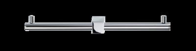 Chroom Toiletrolhouder Dubbel BQ TPH 2