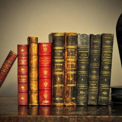 Antieke Decoratieve Boeken 38 cm