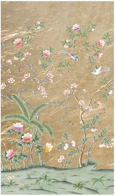 D'Arts Galerie des Glaces Chinoiserie Behang