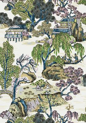 Thibaut Asian Scenic Behang
