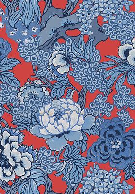 Japans Bloemen Behang Honshu Thibaut