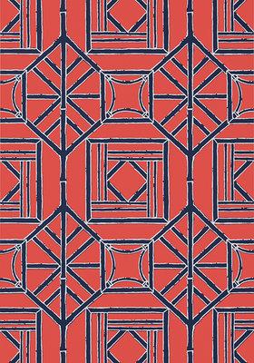Bamboe Behang Thibaut Shoji Panel
