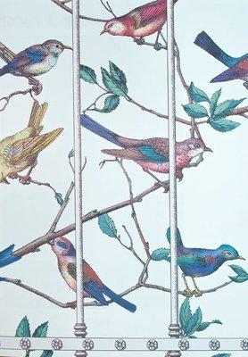 Uccelli Behang Fornasetti 2