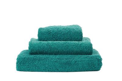 Abyss & Habidecor Handdoek Blauw Groen - 301 Super Pile Serie