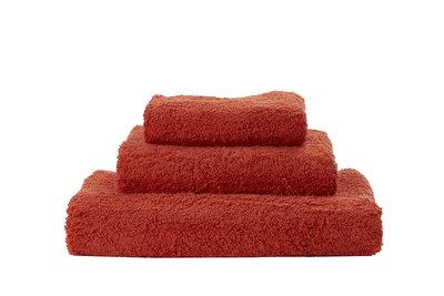 Abyss & Habidecor Handdoek Oranje Rood Spicy - 603 Super Pile Serie