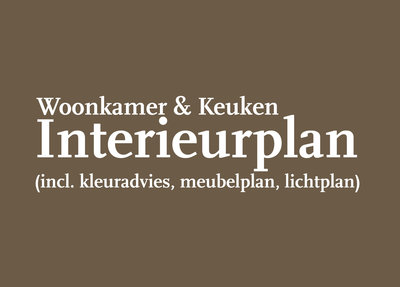 Interieurplan Woonkamer en Keuken - Interieuradvies Op Maat