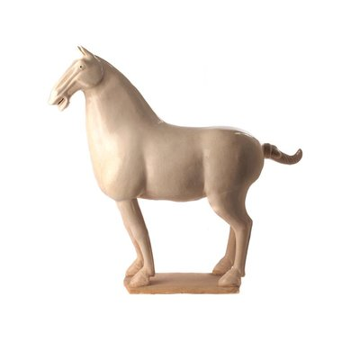 Chinees Paard Creme - XL