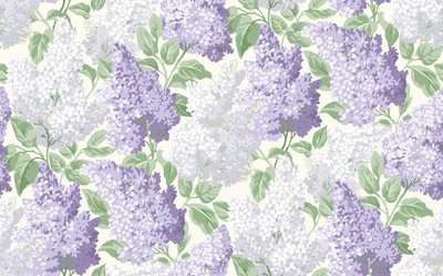 Cole and Son Lilac Behang