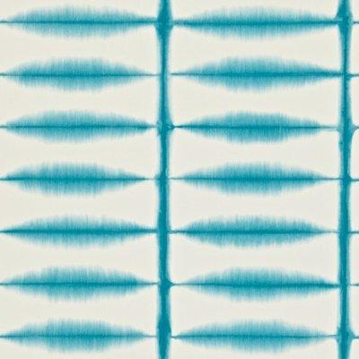 Shibori licht blauw