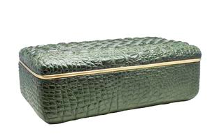 Croco Box Groen