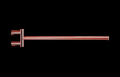 Decor Walther Handdoekhouder Rosegoud Koper MK HTH1