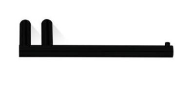 Decor Walther Toiletrolhouder Zwart Mat MK TPH1