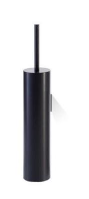 Luxe Zwarte Toiletborstel Wand Decor Walther Mikado