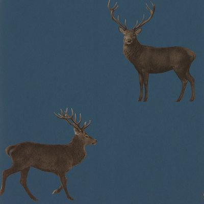 Sanderson Evesham Deer Behang Hert