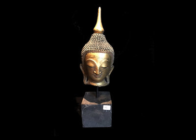 Boeddha Hoofd Op Voet