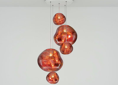 Tom Dixon Hanglamp Koper Melt Copper Large Round EU