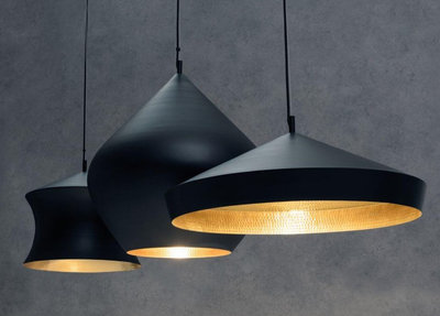 Tom Dixon Hanglamp Beat Black Trio Linear 2
