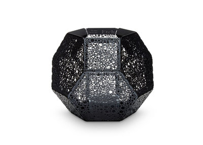 Tom Dixon Etch Waxinelichthouder Black Zwart SALE
