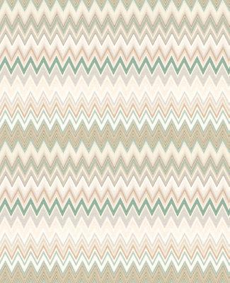 SALE Missoni Zigzag Behang Multicolore