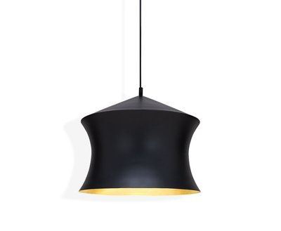 Tom Dixon Hanglamp Beat Shade Waist Black