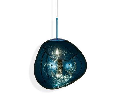 Tom Dixon Hanglamp Melt Pendant Blue