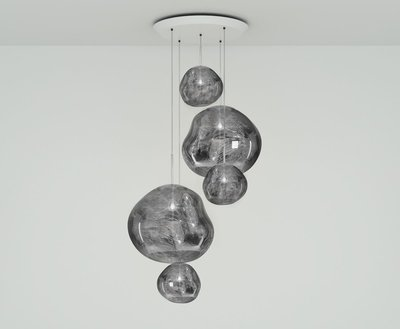 Tom Dixon Hanglamp Melt Chrome Large Round