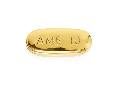 Jonathan Adler Brass Pill Box Ambien
