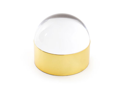 Jonathan Adler Globo Box Medium Clear