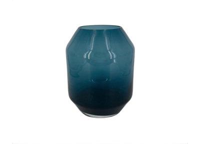 Glazen Vaas Nachtblauw