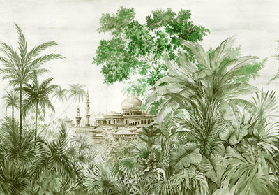 Coordonne Taj Mahal Behang