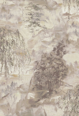 Coordonne Dunhuang Behang