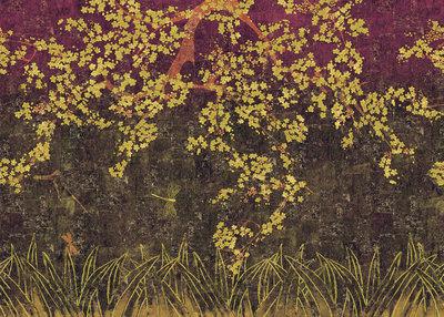 ELITIS Les Cerisiers Sauvages Behang Kersenbloesem