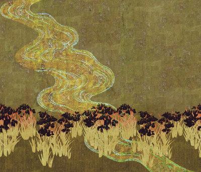 ELITIS Memoire d'un jardin Behang