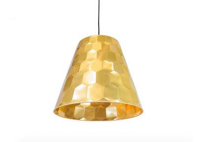 Osiris Hertman Hexagon Hanglamp Goud