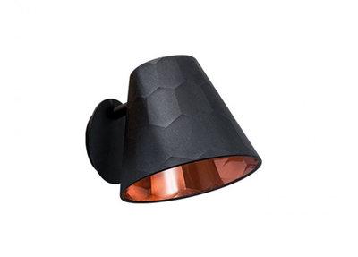 Osiris Hertman Hexagon Wandlamp Zwart