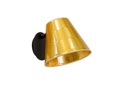 Osiris Hertman Hexagon Wandlamp Goud