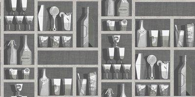 Fornasetti Cocktails Behang