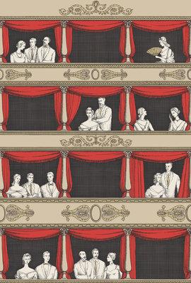 Fornasetti Teatro Behang