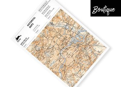 Pepin Press Notitieblok Historical Maps Writing Paper