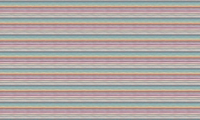 Missoni Riga Multicolor Horizontal Behang